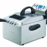 Waring Pro Brushed Stainless Steel Professional Deep Fryer – $70.61 w/Free Shipping!