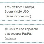 Get $5 FREE From Paypal!