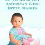 Up-To 40% off American Girl Bitty Baby Dolls and More at Zulily!