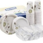 Dixie Paper Goods Combo Pack (1 Box of 50 Dining Sets) For As Low As $27.80