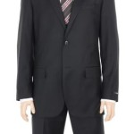 Alfani Mens Black Wool Cashmere Suit For $89.99 Shipped + Buy 1 Get 1 25% Off!