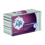 24-Pack of Puffs Ultra Soft & Strong Facial Tissues-124 ct For $21.68!