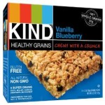 KIND Healthy Grains Granola Bars, Vanilla Blueberry, 5 Count (Pack of 3) For $7-$8.61 Shipped!