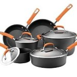 Today Only – Rachael Ray Hard Anodized II Nonstick 10-Piece Cookware Set For $99.99 Shipped!