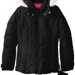 London Fog Big Girls' Heavyweight Coat with Faux-Fur Hood For Just $21.08!