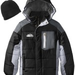 London Fog Big Boys' Color-Block Puffer Coat with Hat For Just $19.71!!