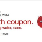 Get A FREE 24-Pack Of Spring Water From Staples!