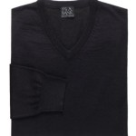 Jos. A. Bank Executive Merino V-Neck Sweater For $17.97 w/Free Shipping!
