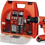 Ends Tonight – Black & Decker 20-Volt Lithium-Ion Drill Kit with 100 Accessories For Just $62.99 w/Free Shipping!