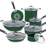 Emeril by All-Clad Hard Enamel Nonstick Dishwasher/Oven Safe 13 Piece Cookware Set For Just $142 Shipped!