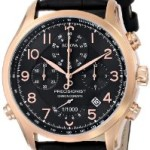Bulova Men's Chronograph Precisionist Black Leather Strap Watch For $186 Shipped!