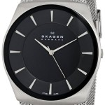 Lowest Price: Skagen Men's Havene Quartz 3 Hand Stainless Steel Silver Watch For Just $82.50!