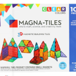 Today Only: Original Magna-Tiles Clear Colors 100 Piece Building Set Just $101 Shipped