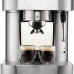 KRUPS Pump Espresso Machine w/Thermo Block System and Stainless Steel Housing For Just $69.99 Shipped!