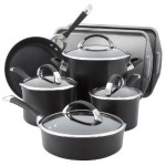 Circulon Hard Anodized Nonstick 9-Piece Cookware with 2-Piece Bakeware Set For Only $183! (Was $300!)