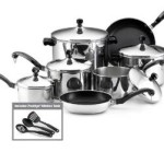 Hot! Farberware Classic Stainless Steel 15-Piece Cookware Set For Just $37.99 Shipped!