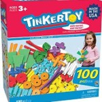 Tinkertoy 100 Piece Essentials Value Set For $16.49!
