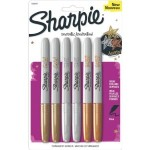 Sharpie Metallic Fine Point Permanent Marker, Assorted Colors, 6-Pack For Just $3!