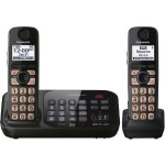 Panasonic DECT 6.0 Cordless Phone with Answering System, 2 Handsets For Just $49.88 Shipped! (Ends Soon)