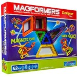 Magformers Magnetic Building Construction Set – 62 Piece Designer Set – $63.99 & Free Shipping!