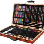 Darice 80-Piece Deluxe Art Set For $11.97!