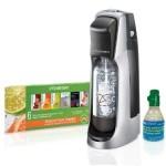 SodaStream Fountain Jet Home Soda Maker Starter Kit, Black and Silver – $49.99 Shipped!