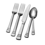 International Silver Kensington 53-Piece Flatware Set, Service for 8 For $29.99!