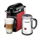 Nespresso Pixie Espresso Maker with Aeroccino Plus Milk Frother For $199.99 + Get $100 In Free Nespresso Pods!
