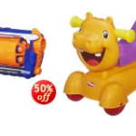 Today only, Save up to 53% on select toys and games from Hasbro!