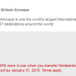 Get A 40% Bonus On American Express Membership Rewards Points Transfers To British Airways!