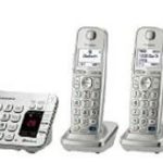 Panasonic Link2Cell Bluetooth Enabled Phone with Answering Machine & 4 Cordless Handsets For $79.99 & Free Shipping!