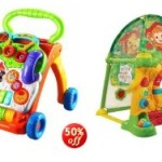 Today only, save 50% on highly rated VTech toys!