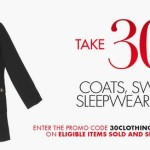 Amazon: 30% Off Clothing, Coats, Sweaters & Sleepwear For The Whole Family! (Ends Tonight)