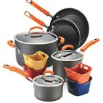 Rachael Ray Hard-Anodized Nonstick 12-Piece Cookware Set For Just $65! (Was $199)