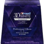 Crest 3D White Luxe Whitestrips Professional Effects – Teeth Whitening Kit 20 Treatments For $27.64!