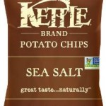 Case of 24 Bags of Kettle Brand Potato Chips, Sea Salt, For Just $10.64-$11.89 Shipped!