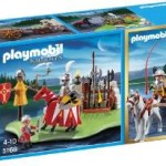 PLAYMOBIL 40th Anniversary Knight's Tournament Compact Set and Cannon Wagon For $11.58!
