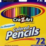 Cra-Z-art Colored Pencils, 72 Count For $5.37!