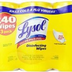 3-Pack of Lysol Disinfecting Wipes Canisters For $7.47 & Free Shipping!