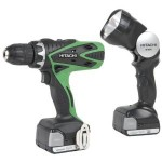 Hitachi 14.4-Volts Lithium-Ion 1.5 Amp Cordless Drill Driver For Just $59.88 Shipped!!