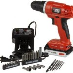Today Only: Black & Decker 20-Volt MAX Lithium-Ion Drill/Driver with 30 Accessories For $49.99 Shipped!