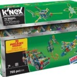 705 Piece K'nex 70 Model Building Set For $19.99!