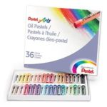 Pentel Arts Oil Pastels, 36 Color Set For $3.99 or 12 Color Set for $1.49!