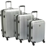 Traveler's Choice Luggage 3 Piece Hardshell Spinner Set For $99.99 Shipped!