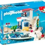 PLAYMOBIL Harbor Police Station with Speedboat For $21!
