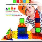 PicassoTiles 100 piece set Magnet Building Tiles Building Blocks For Just $63.79 Shipped!