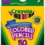 Crayola 50ct Long Colored Pencils For $6.97