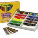 Crayola 240ct Colored Pencils Classpack 12 Colors Only $15.47!