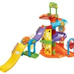 Go! Go! Smart Wheels Spinning Spiral Tower Playset For $22.49