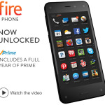 Today Only: Unlocked Amazon Fire Phone, 32GB For Just $189 + Get FREE 1 Year of Prime!